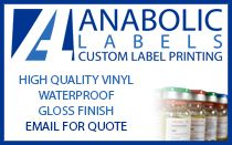 Anabolic Labels store email banner