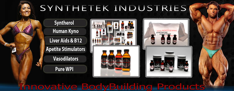Synthetek Industries - Innovative Bodybuilding Products