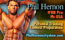 Phil Hernon Personal Training email
