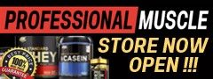 Professional Muscle Store open now